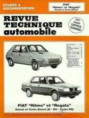 Rta 421.5 Fiat Ritmo-Regata D Et Turbo D 80-87 - Couverture - Format classique