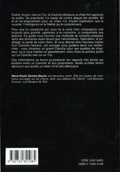 Le caniche - 4ème de couverture - Format classique
