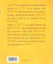 Une cuilleree de puree pour... - 4ème de couverture - Format classique