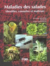 Maladies de la salade ; identifier, connaître, maîtriser - Intérieur - Format classique