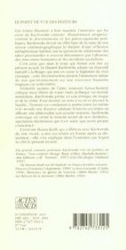 Le Hasard Et Autres Textes - 4ème de couverture - Format classique