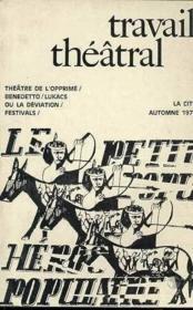T21 Theatre De L'Opprime - Couverture - Format classique