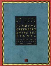 Clément greenberg entre les lignes - Intérieur - Format classique