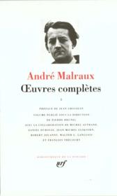 Livre oeuvres completes t1 andr malraux for Miroir des limbes