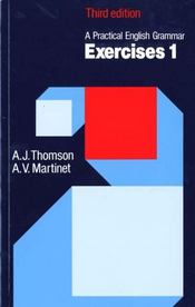 Vente  Practical english grammar: exercises 1 (with answers)  - A Thomson