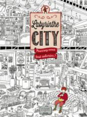 Vente  Labyrinthe city - coloriage  - Hiro Kamigaki - Ic4design