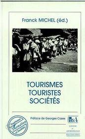 Tourismes, Touristes, Societes - Intérieur - Format classique