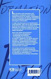 Infection Osteo-Articulaire - 4ème de couverture - Format classique