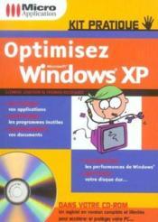 Optimisez windows xp - Couverture - Format classique