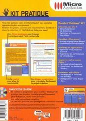 Optimisez windows xp - 4ème de couverture - Format classique