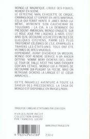 Le Reve D'Un Aigle Foudroye - 4ème de couverture - Format classique