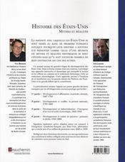Histoire des états-unis (2e édition) - 4ème de couverture - Format classique