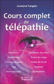 Cours Complet De Telepathie - Couverture - Format classique