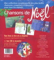 Chansons De Noel + Cd - 4ème de couverture - Format classique