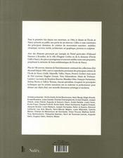 Le musée de l'école de nancy dévoile ses réserves ; oeuvres méconnues ou inédites - 4ème de couverture - Format classique