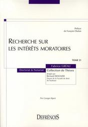 Recherche sur les intérêts moratoires - Intérieur - Format classique