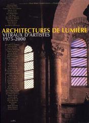 Architecture de lumiere - Intérieur - Format classique