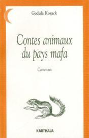 Contes animaux des pays mafa - Couverture - Format classique