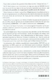 Comment Parler A Nos Enfants De L Amour Et De La Sexualite En Respectant Le Jardin Secret De Chacun - 4ème de couverture - Format classique