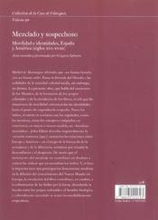 Mezclado Y Sospechoso - 4ème de couverture - Format classique