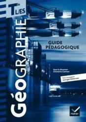 Geographie tles l, es ed. 2012 - guide pedagogique - Couverture - Format classique