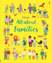 Vente livre :  All about families  - Felicity Brooks - Mar Ferrero