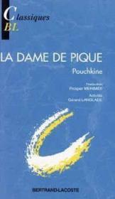La dame de pique, de Pouchkine - Couverture - Format classique