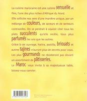 Tresors du maroc - 4ème de couverture - Format classique