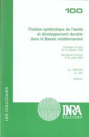 Fixation symbiotique de l'azote et develloppement durable dans le bassin mediterranéen - Intérieur - Format classique