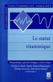 Le Statut Vitaminique - Couverture - Format classique