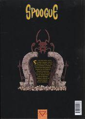 Spoogue t.1 ; Kougna - 4ème de couverture - Format classique