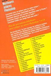 Guide Des Meilleures Astuces Photoshop - 4ème de couverture - Format classique