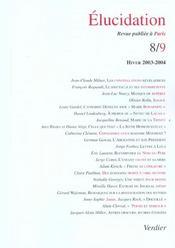Elucidation N.8-9 - Intérieur - Format classique