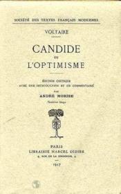 Candide Ou L'Optimisme - Couverture - Format classique