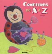 Comptines De A A Z - Couverture - Format classique