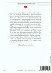 Art De L'Islam (L') - 4ème de couverture - Format classique