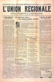 Union Regionale (L') N°1113 du 21/12/1939 - Couverture - Format classique