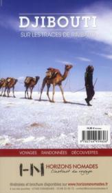 GUIDE PETIT FUTE ; COUNTRY GUIDE ; Djibouti (édition 2012-2013) - 4ème de couverture - Format classique