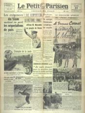 Petit Parisien Edition De Paris (Le) du 24/02/1941 - Couverture - Format classique