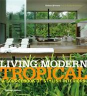 Living modern tropical - Couverture - Format classique