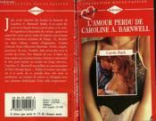 L'Amour Perdu De Caroline A. Barnwell - White Lace Promises - Couverture - Format classique