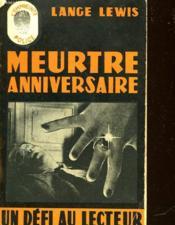 Meurtre Anniversaire - The Birthday Murder N°34 - Couverture - Format classique
