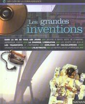 Vente livre :  Grandes inventions  - Woodley Richard - Woodley/Vaugeois - Richard/Vaugeois