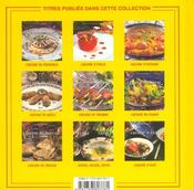Cuisine d'espagne - 4ème de couverture - Format classique