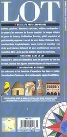 Lot(Cahors Et Son Vignoble, Quercy Blanc, Gourdon-Bouriane, Gro - 4ème de couverture - Format classique