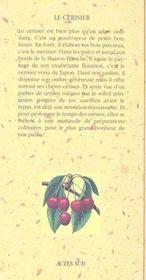 Le Cerisier - 4ème de couverture - Format classique