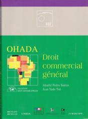 Ohada ; droit commercial général - Couverture - Format classique