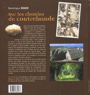 Chemins De Contrebande - 4ème de couverture - Format classique