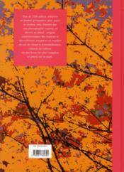 Le livre des arbres et arbustes - 4ème de couverture - Format classique