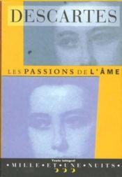 Les passions de l'âme - Couverture - Format classique